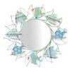 Beachcrest Home Fish Circling Wall Mirror