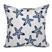 Beachcrest Home Rocio Soft Starfish Geometric Print Throw Pillow