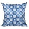 Beachcrest Home Rocio Square Pop Geometric Print Throw Pillow