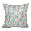 Beachcrest Home Rocio Wavy Splash Geometric Print Throw Pillow