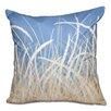 Beachcrest Home Surrey Sea Grass Floral Print Outdoor Throw Pillow