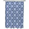 Beachcrest Home Rocio Square Pop Geometric Print Shower Curtain