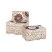 Beachcrest Home Capiz Shell Urchin Box