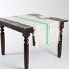 Beachcrest Home Fairfax Striped Design Jute Table Runner