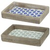 Beachcrest Home Decorative Tray (Set of 2)