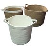 Beachcrest Home 3 Piece Jute Baskets Set