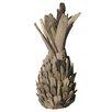 Beachcrest Home Driftwood Pineapple Sculpture