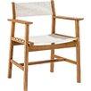 Beachcrest Home Warner Dining Arm Chair