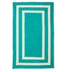 Beachcrest Home Keats Hand-Woven Outdoor Blue Area Rug