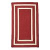 Beachcrest Home Keats Hand-Woven Outdoor Red Area Rug