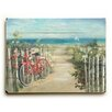 Beachcrest Home Summer Ride Painting Print on Plague