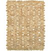 Beachcrest Home Kenneth Hand-Woven Beige Area Rug