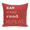 Beachcrest Home Rocio My Mantra Word Outdoor Throw Pillow