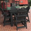 Beachcrest Home Albion 5 Piece Counter Height Dining Set