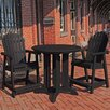 Beachcrest Home Albion 3 Piece Counter Height Dining Set