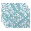 Beachcrest Home Rocio  Beach Star Geometric Print Placemat (Set of 4)
