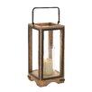 Loon Peak Granger Wood Metal Glass Lantern