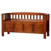 Loon Peak Anahuac Wood Entryway Bench