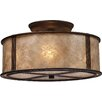 Loon Peak Seeley 3 Light Semi Flush Mount