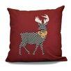 Loon Peak Decorative Holiday Animal Print Outdoor Throw Pillow
