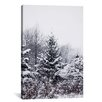 Loon Peak Winter Pines Photographic Print on Wrapped Canvas