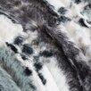 Trent Austin Design Hilary Zebra Print Faux Fur Throw Pillow (Set of 2)