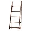 "Trent Austin Design Irwin Ladder 72"" Accent Shelves Bookcase"
