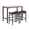 Trent Austin Design Bezons 3 Piece Pub Table Set