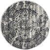 Trent Austin Design Costa Mesa Silver/Black Area Rug