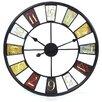 "Trent Austin Design Millary Oversized 24"" Kaleidoscope Wall Clock"