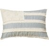 Trent Austin Design Silverod United States Flag Linen Lumbar pillow