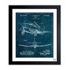 Trent Austin Design Airplane 1947 Framed Graphic Art