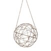 Trent Austin Design Aged Iron Wire Sphere Wall Decor