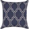 House of Hampton Geometric Polyester Throw Pillow