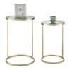 House of Hampton Halstead 2 Piece End Table Set