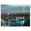 House of Hampton 'Paris' by Revolver Ocelot Photographic Print on Wrapped Canvas