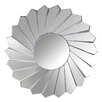 House of Hampton Round Wall Mirror