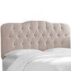House of Hampton Portsmouth Tufted Cotton Panel Headboard