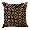 House of Hampton Alton Geometric Velvet Throw Pillow