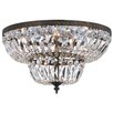 House of Hampton Aureolin 4 Light Flush Mount
