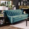 House of Hampton Baryte Tufted Sofa
