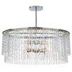 House of Hampton Rixensart 8 Light Crystal Chandelier