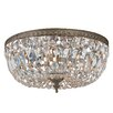 House of Hampton Coblenz 3 Light Flush Mount