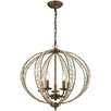 House of Hampton Goethe 5 Light Globe Pendant