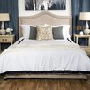 House of Hampton Queen Upholstered Panel Bed