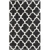 House of Hampton Hand-Tufted Graphite/Ivory Area Rug