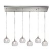 House of Hampton Ventnor 6 Light Kitchen Island Pendant