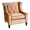 House of Hampton Winslet Velvet Arm Chair