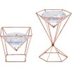 House of Hampton Lieberman Glass Tealight Holder