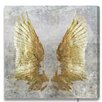 House of Hampton My Golden Wings Graphic Art on Wrapped Canvas
